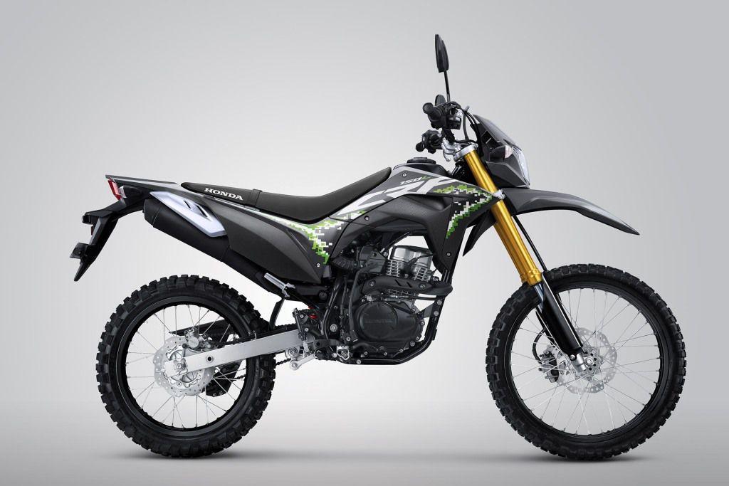 Tampilan baru Honda CRF150L 2019