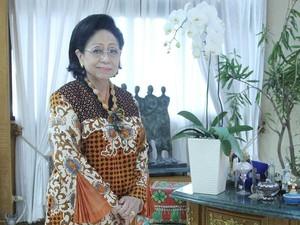 Sosok Martha Tilaar yang Ditinggal Mendiang Sang Suami
