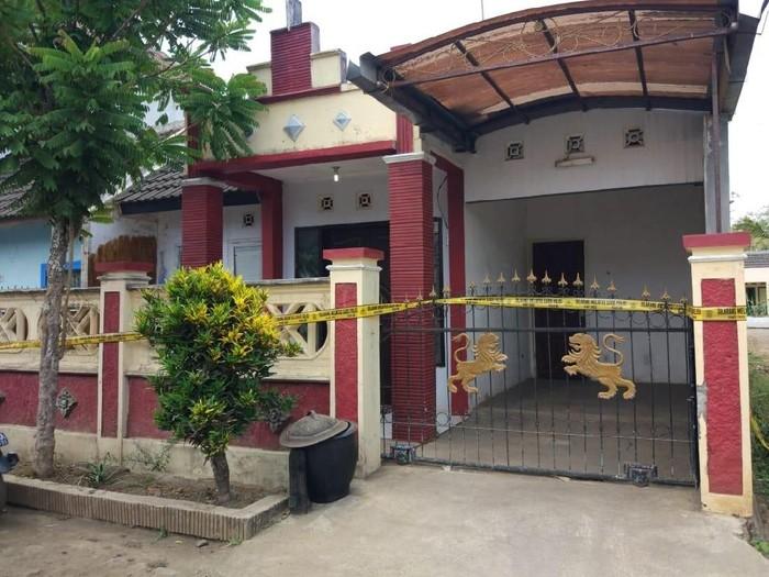 Rumah orang tua korban/Foto: Istimewa