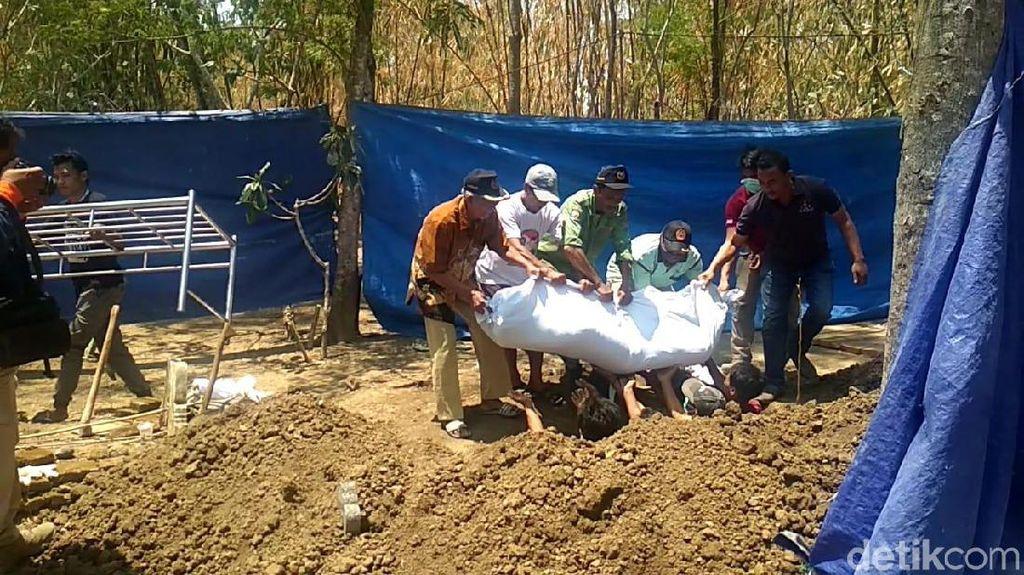 Begini Hasil Autopsi Mayat Ayah yang Dicor Anak Kandung di Tegal