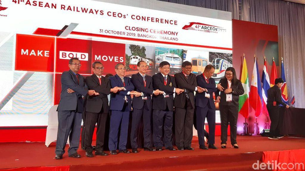 Pertemuan Operator Kereta se-ASEAN Ditutup, Ini Hasilnya