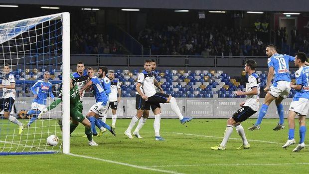 Hasil Liga Italia: Napoli Menang 2-1 atas Atalanta