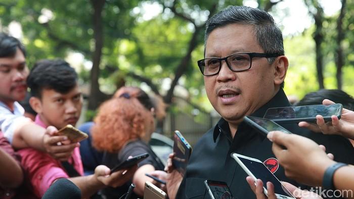 Sekjen PDIP Hasto Kristiyanto (Ari Saputra/detikcom)