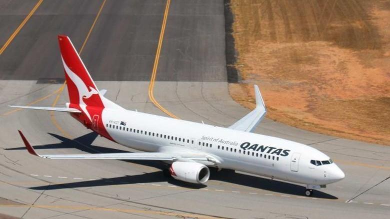 Temukan Retakan, Qantas Periksa Seluruh Unit Boeing 737