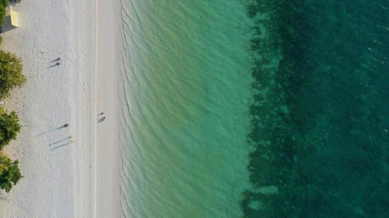 13 Pantai Terindah di Dunia yang Cantik Banget/Foto: Mustiana Lestari