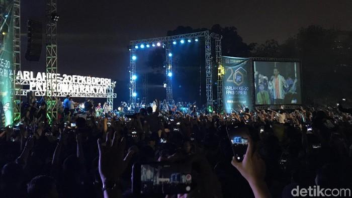 Didi Kempot Meriahkan Harlah Fraksi PKB (Rolando/detikcom)