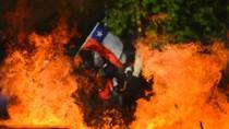 Unjuk Rasa Kembali Berujung Ricuh di Chili