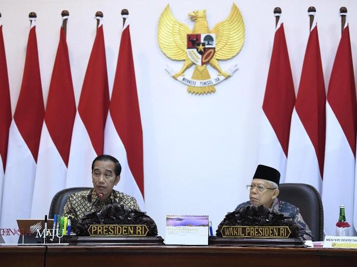 Presiden Jokowi dan Wapres Maruf Amin. (Foto: ANTARA Foto)