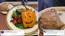Begini Buruknya Tampilan Makanan di Pesawat Kepresidenan Donald Trump