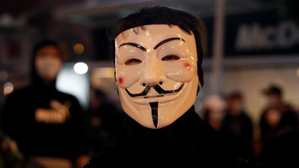 Demonstran Hong Kong Akan Berunjuk Rasa Memakai Topeng Halloween