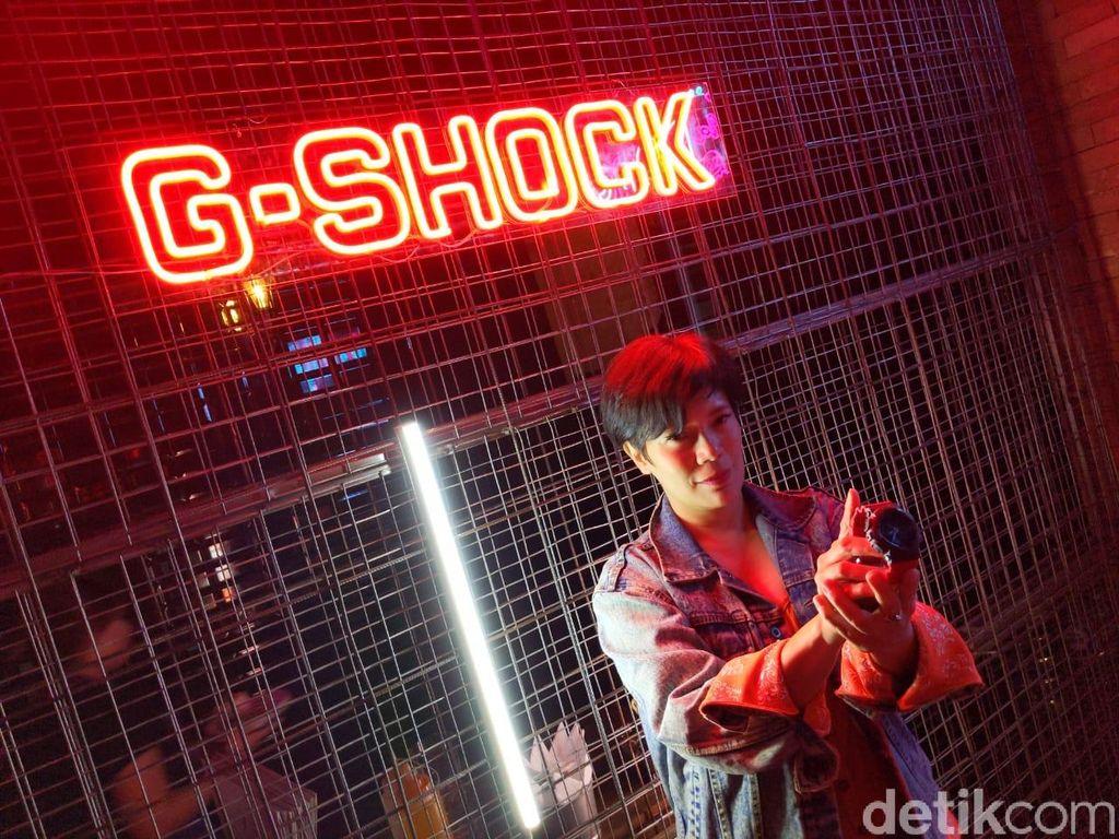 G-Shock seri GA-140 membawa tema 90-an. Foto: Agus Tri Haryanto/detikINET
