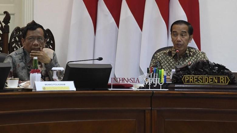 Jokowi Minta Menteri Jelaskan Kebijakan: Kadang yang Demo Tak Tahu Substansi