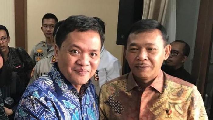 Foto: Habiburokhman dan Jenderal Idham (Dok. Habiburokhman)
