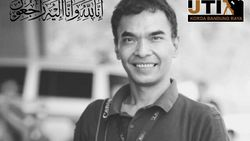 Jurnalis Net TV di Bandung Wafat Saat Liputan