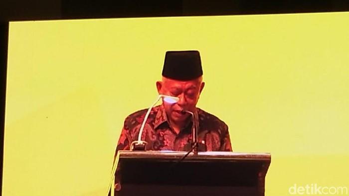 Maruf Amin Membuka Konferensi Sawit di Bali
