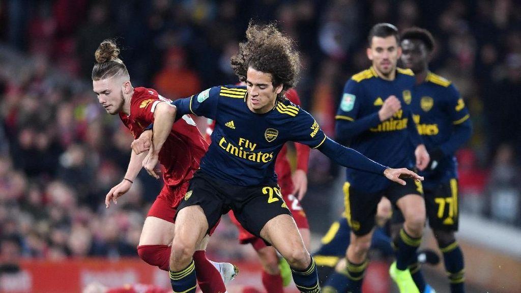 Kans Liverpool vs Arsenal di Babak Keempat Piala Liga Inggris