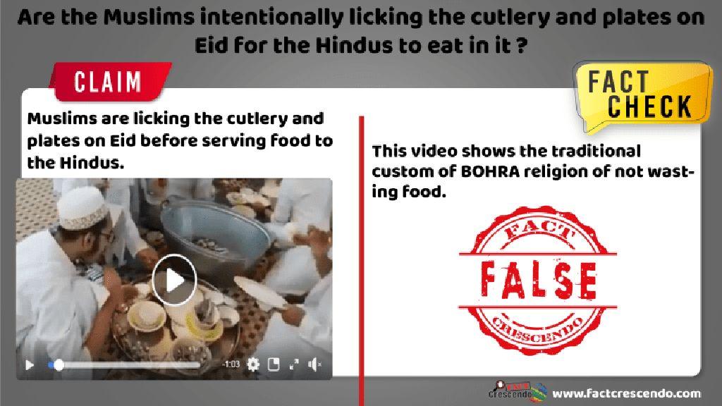 Ini Fakta Video Viral Pria Berpeci Jilati Peralatan Makan di Masjid