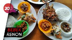 Nyam! Lembutnya Olahan Daging Bebek Khas Bali