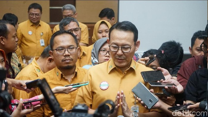 Dirut BPJS Kesehatan, Fachmi Idris (Foto: Rosmha/detikHealth)