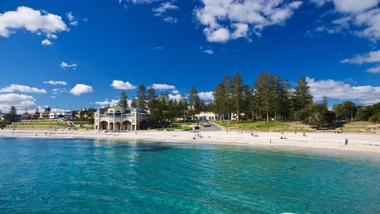 Ilustrasi tempat wisata di Perth (iStock)