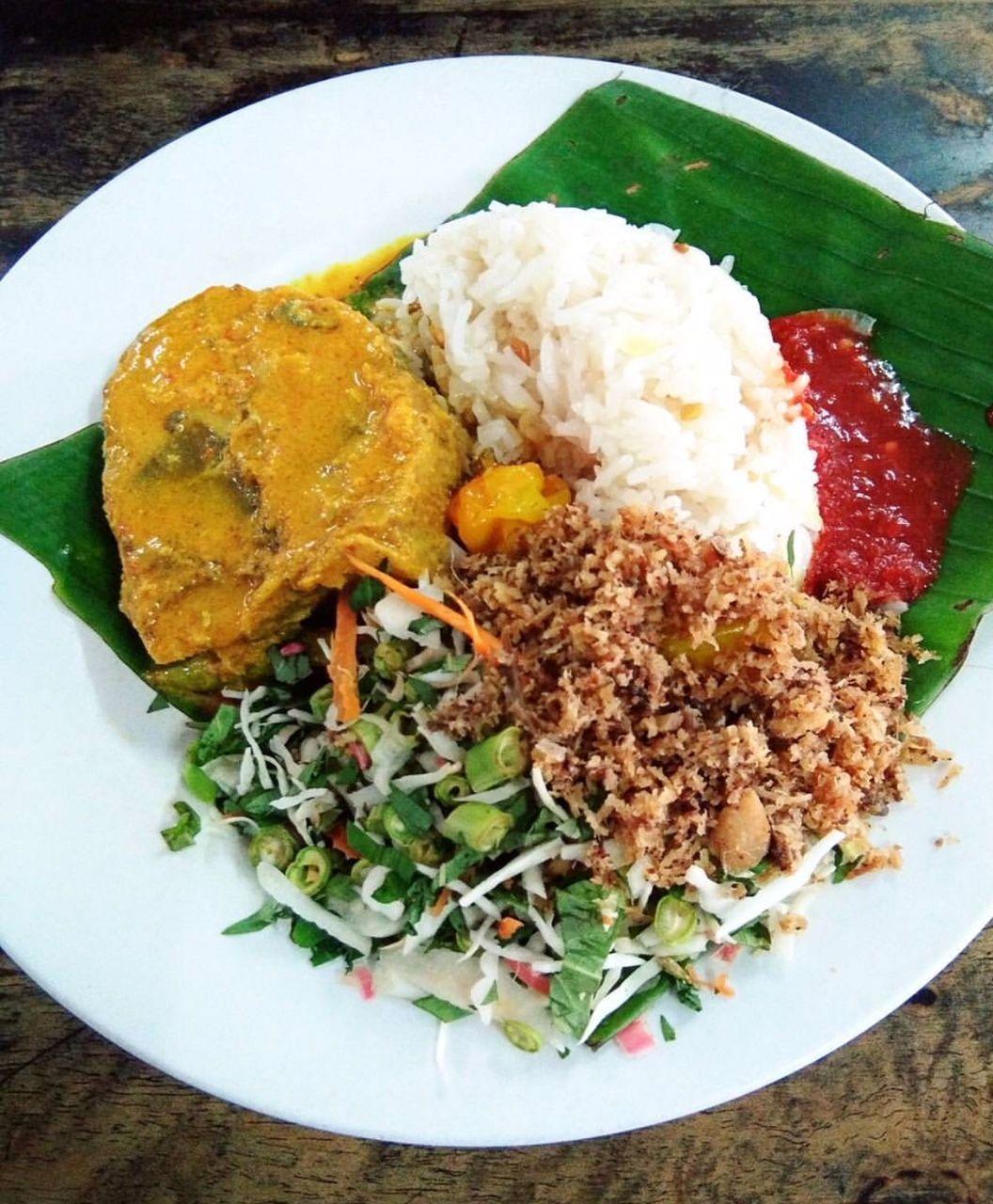 nasi dagang khas malaysia