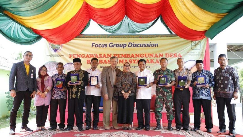 Blang Krueng Jadi Desa dengan Pemanfaatan Dana Desa Terbaik