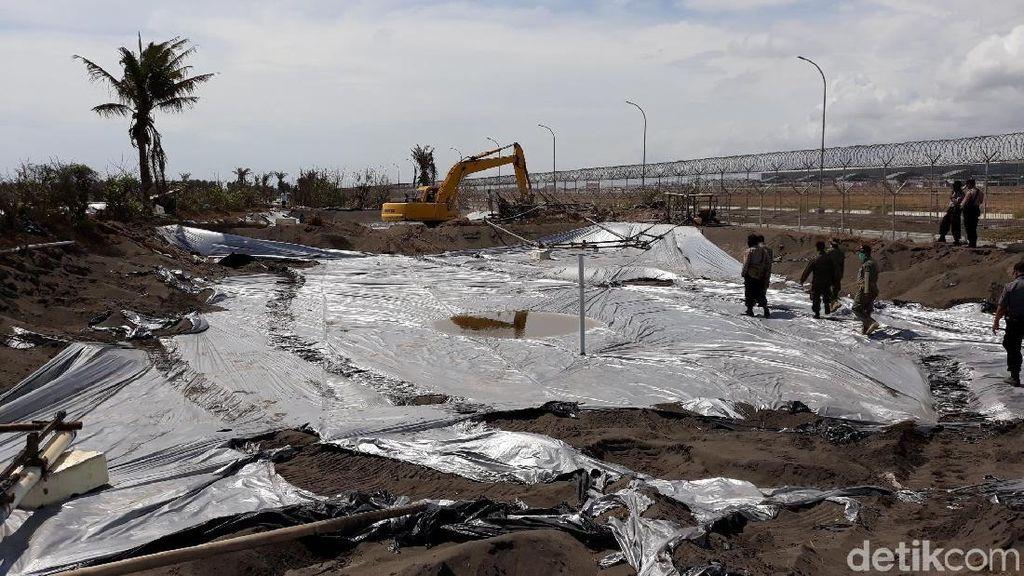 Sempat Ricuh, Penertiban Tambak di Dekat Bandara Kulon Progo Dilanjut