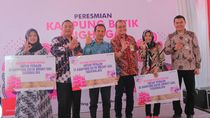 Kerja Sama Pemkot Tasikmalaya, Pertamina Resmikan Kampung Batik