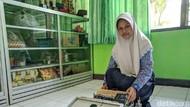 Canggih, Ada Robot Orak-arik Gabah Karya Siswi SMP di Ponorogo