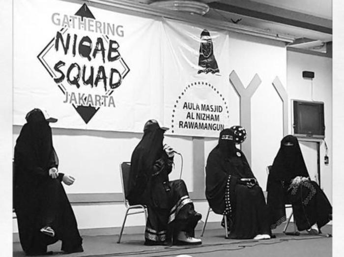 Niqab Squad Indonesia. Foto: Dok. Niqab Squad Indonesia