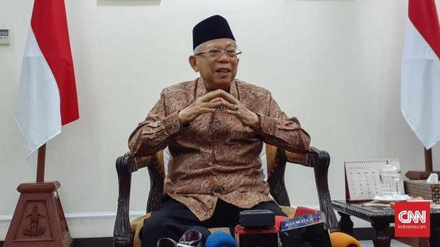 Wakil Presiden RI Ma'ruf Amin mengatakan PON 2020 di Papua kembali digelar jika terjadi penundaan. (
