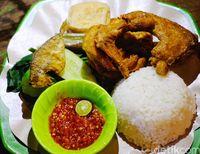 Makanan khas Banyuwangi.