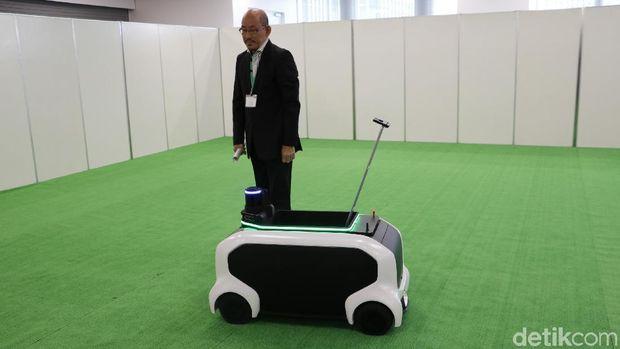 Robot Kecil Toyota Beraksi di Olimpiade Tokyo