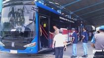 14.000 Bus Listrik Seliweran di Jakarta 2030