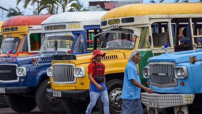 Transportasi Umum di Samoa