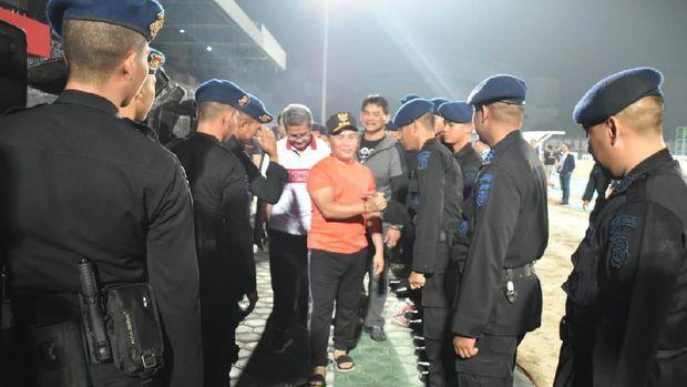 Marah Gubernur Sugianto Sabran, Kecewa Sistem Perwasitan