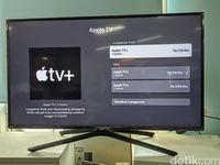 Tarif belangganan Apple TV+ di Indonesia.