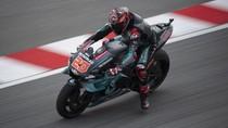 Rossi Crash, Quartararo Tercepat Lagi di FP2 MotoGP Valencia