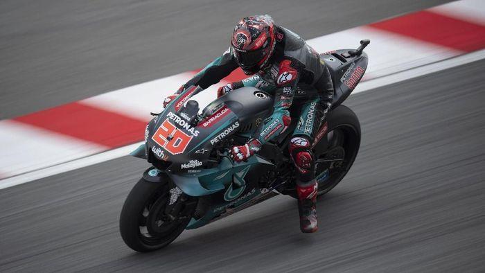 Quartararo Rebut Pole MotoGP Malaysia, Marquez Crash