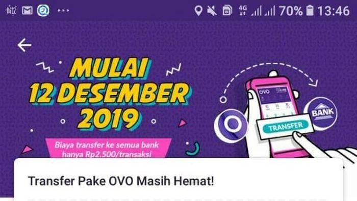 Foto: Screenshoot Aplikasi OVO