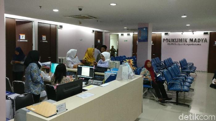 Klinik adiksi game di RSCM. (Foto: Firdaus Anwar/detikHealth)