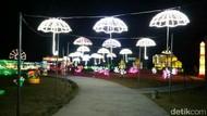Foto: Kerlap-kerlip Lampion di Festival of Light Cirebon