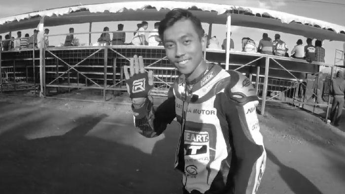 Pebalap asal Jawa Barat, Afridza Munandar, di mata keluarga. (Foto: Youtube Afridza Munandar)