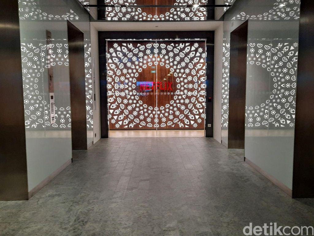 Kantor Netflix berada di area perkantoran tak jauh dari Marina Bay, Singapura. Foto: Adi Fida Rahman/detikINET