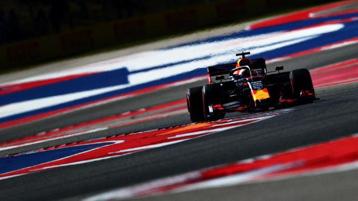 Max Verstappen tercepat di latihan bebas F1 GP Amerika Serikat. (Foto: Dan Istitene / Getty Images)