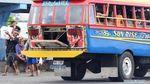 Kreatif Cari Rezeki! Truk Bekas di Samoa Dimodif Jadi Bus