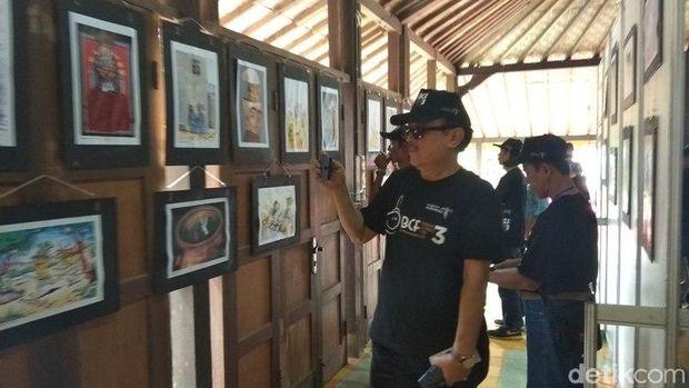 57 Negara Ikut Pameran Kartun Internasional di Borobudur