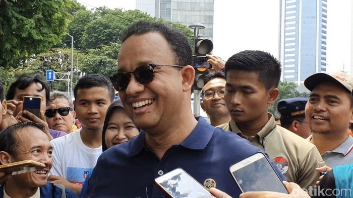 Gubernur DKI Jakarta Anies Baswedan (Rolando Fransiscus Sihombing/detikcom)