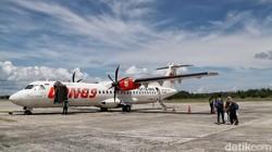 Wings Air Setop Sementara Penerbangan Jember - Surabaya