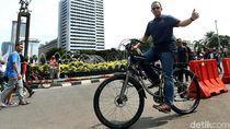 Ketua Fraksi PDIP DKI Tantang Gubernur Anies Bersepeda Setiap Hari